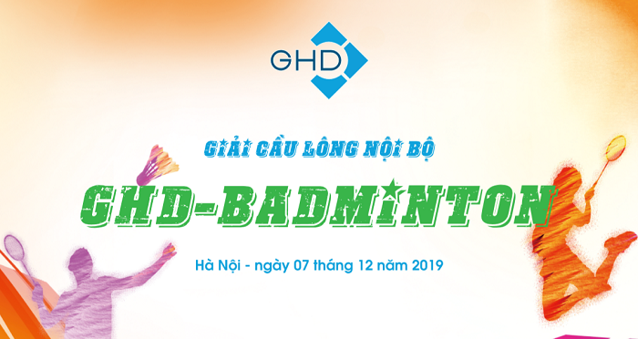 GHD's 1st Internal Badminton Tournament 2019
