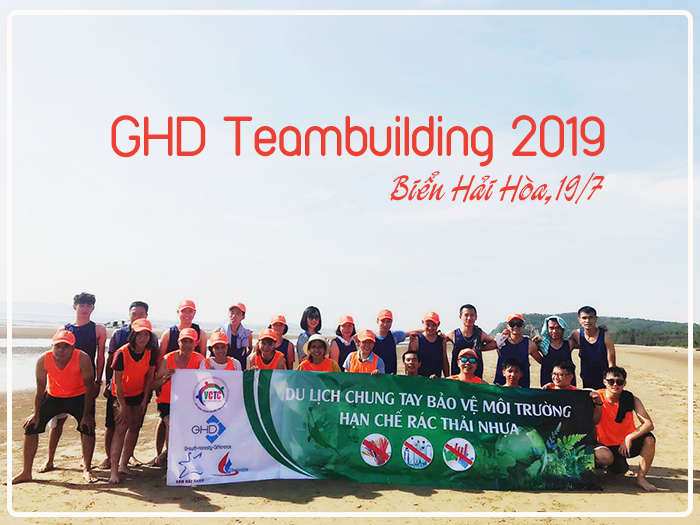 Teambuilding 2019 in Hai Hoa Beach