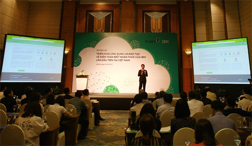 IBM first introduced its knowledge base in Vietnam