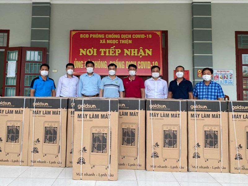GHD chung tay hỗ trợ Bắc Giang vượt dịch COVID-19